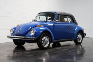 1978 Volkswagen Beetle Convertible = Blue low 25k miles $7.8 For Sale