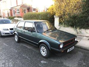 Volkswagen Golf Mk1 Gti 1.8 Lhasa Green 1983 For Sale