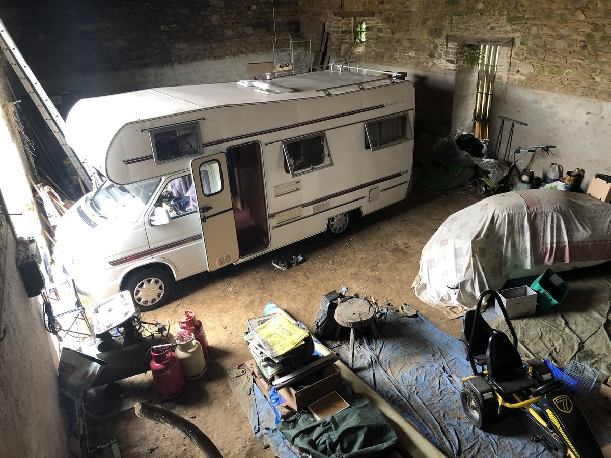 1992 Classic T4 VOLKSWAGEN Transporter Motor Home: Megg SOLD (picture 3 of 3)