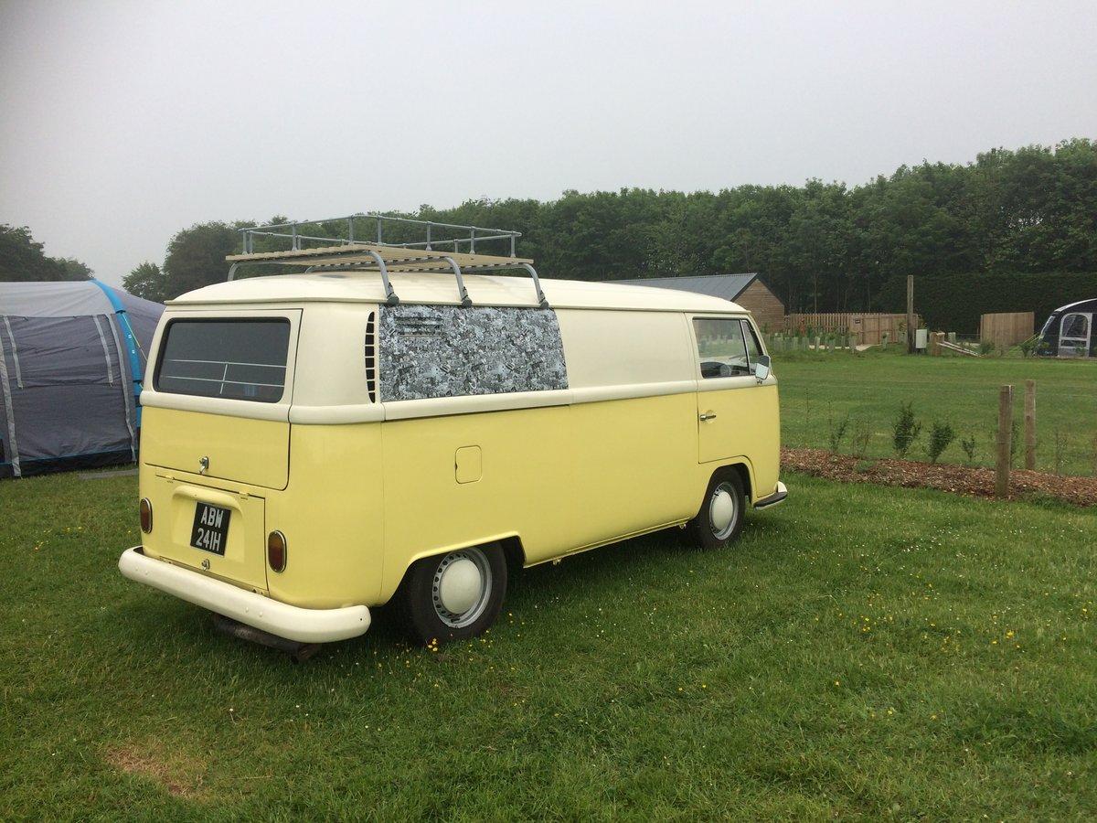 Vw camper panel van 1969 For Sale (picture 3 of 6)