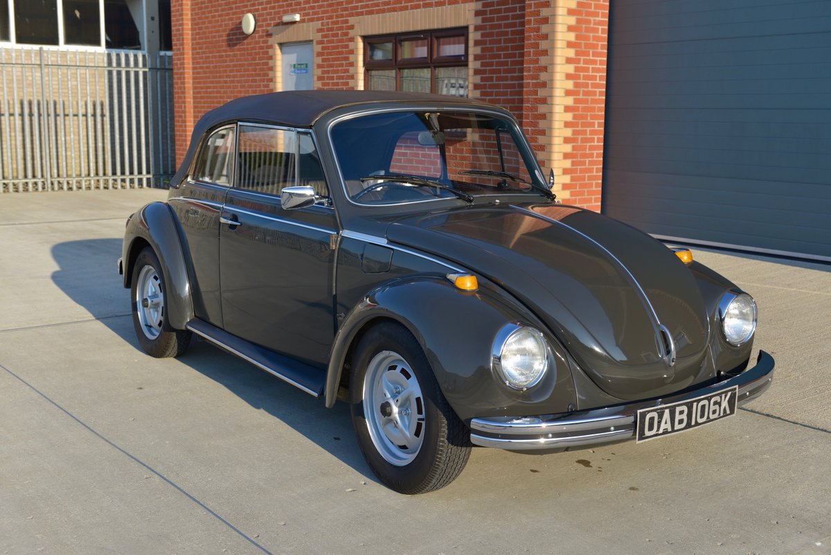 1972 VW Beetle 1303 Convertible For Sale (picture 1 of 6)
