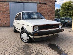1982 Volkswagen Golf Gti MK1 1.6 *Ebay auction For Sale