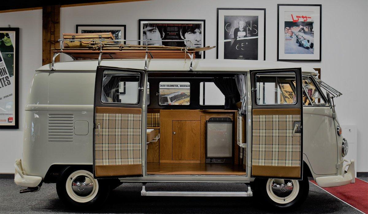 1967 1966 Volkswagen Split Screen Camper T2 For Sale (picture 2 of 6)