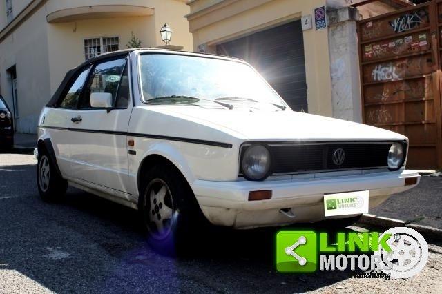 1980 Volkswagen 1.5 Golf Cabrio 1° serie Karmann 3 porte For Sale (picture 1 of 6)