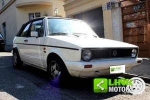 1980 Volkswagen 1.5 Golf Cabrio 1° serie Karmann 3 porte For Sale