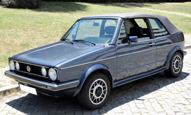 Volkswagen Golf Cabriolet - 1985 For Sale (picture 1 of 6)