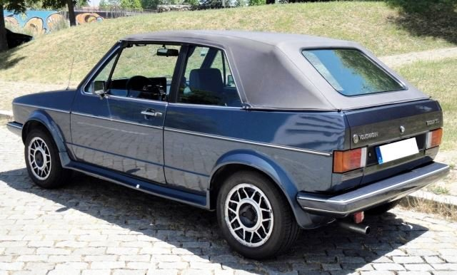Volkswagen Golf Cabriolet - 1985 For Sale (picture 3 of 6)