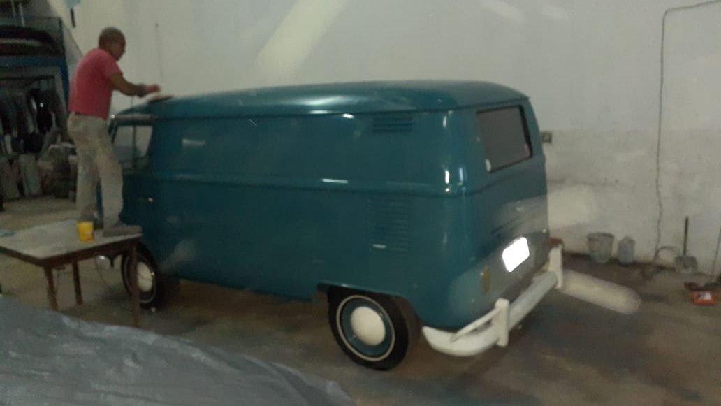 Volkswagen T1 Splitwindow Panel Van '1973 For Sale (picture 5 of 6)