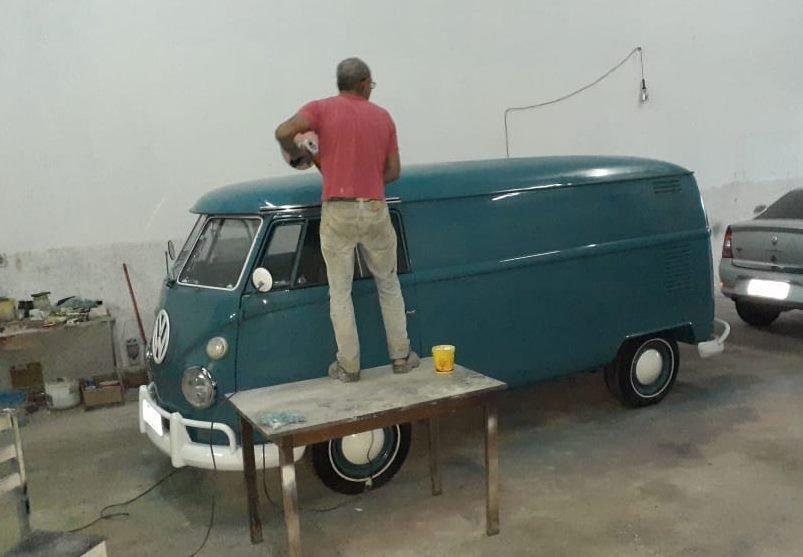 Volkswagen T1 Splitwindow Panel Van '1973 For Sale (picture 6 of 6)