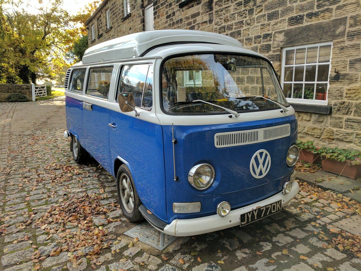 1972 VW T2 DORMOBILE CAMPERVAN - PRICE REDUCED For Sale (picture 1 of 6)