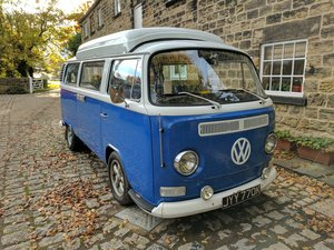 1972 vw t2 dormobile campervan - price dropped
