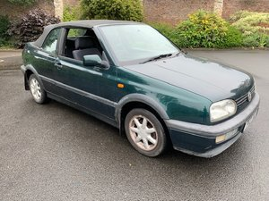 **NEW ENTRY** 1996 Volkswagen Golf Cabriolet SOLD by Auction