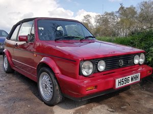 1991 Golf GTi Cabriolet For Sale