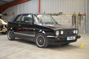 1986 Volkswagon Golf GTi Cabriolet MkI For Sale by Auction