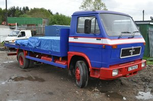 1988 MAN VW TRUCK 6.9L 7.5 TON IN RUNNING ORDER