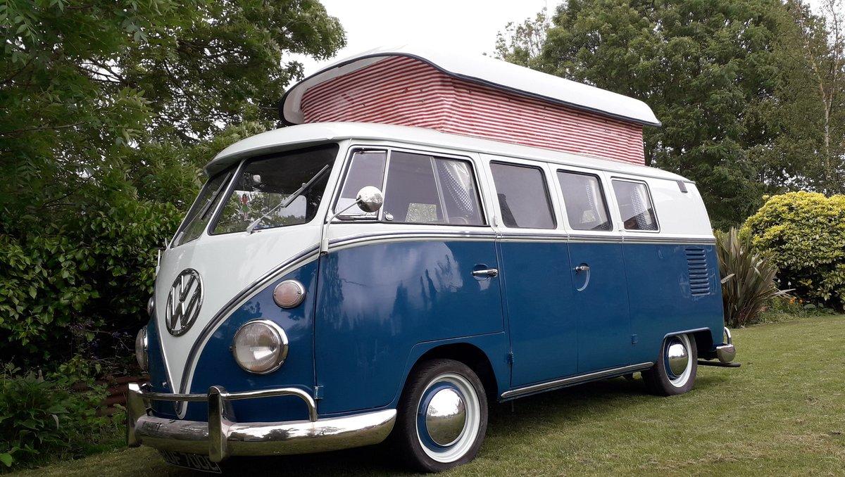 1965 VW Splitscreen Camper For Sale (picture 1 of 6)