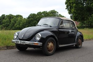 VW Beetle Karmann Convertible 1974- To be auctioned 26-07-19 For Sale by Auction