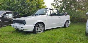 VW Mk1 Golf cabriolet 1988 For Sale