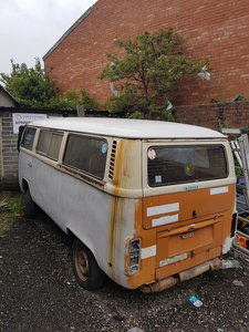 1978 Volkswagen Type 2, VW T2 LHD bay window camper van