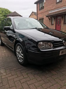 2001 immaculate,unmodified,low mileage Golf GTI.