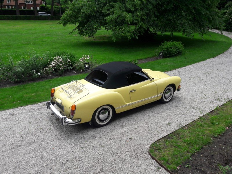 Volkswagen Karmann Ghia 1973 complete restored  34900 euro For Sale (picture 2 of 6)