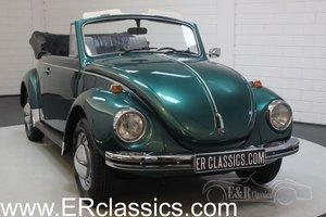 Volkswagen Beetle Cabriolet 1972 Dark green metallic For Sale