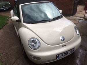 2003 Lovely VW Beetle Cabriolet For Sale