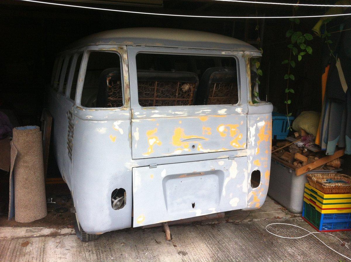 1973 VW. Volkswagen. Split screen camper.. Project. For Sale (picture 6 of 6)