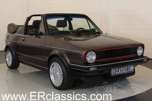 Volkswagen Golf MK1 Convertible 1984 in perfect condition For Sale