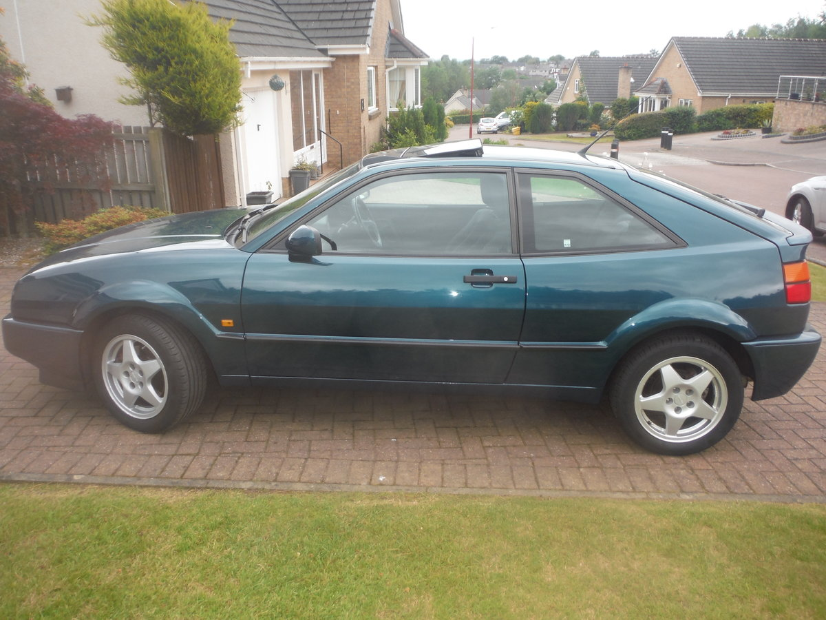 1993 STUNNING LOW MILEAGE VW CORRADO VR6 SOLD (picture 1 of 6)
