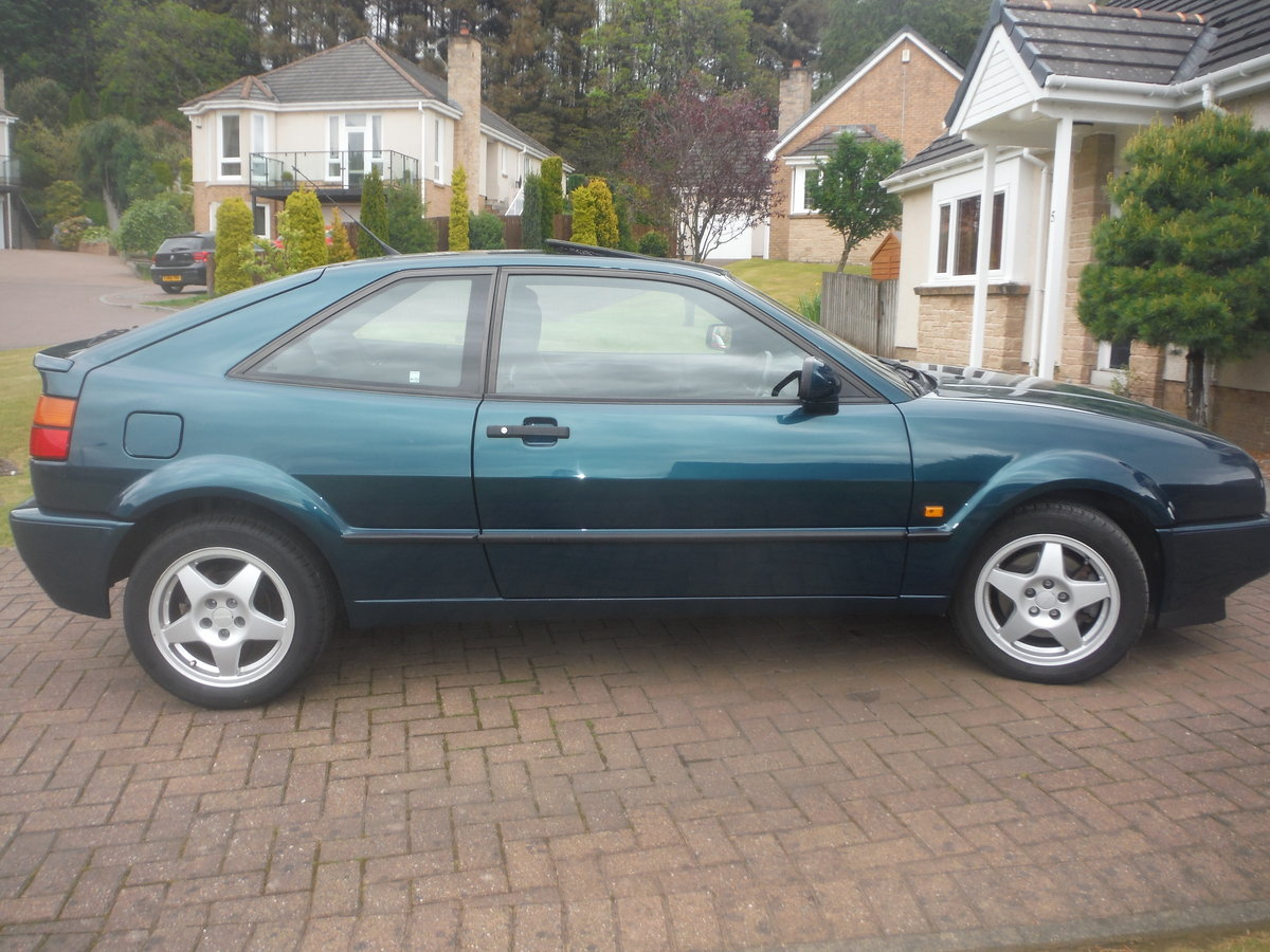 1993 STUNNING LOW MILEAGE VW CORRADO VR6 SOLD (picture 2 of 6)