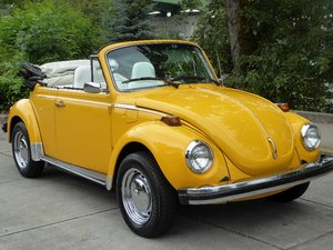 1976 Volkswagen Beetle Convertible =FI only miles 25.9k $obo For Sale