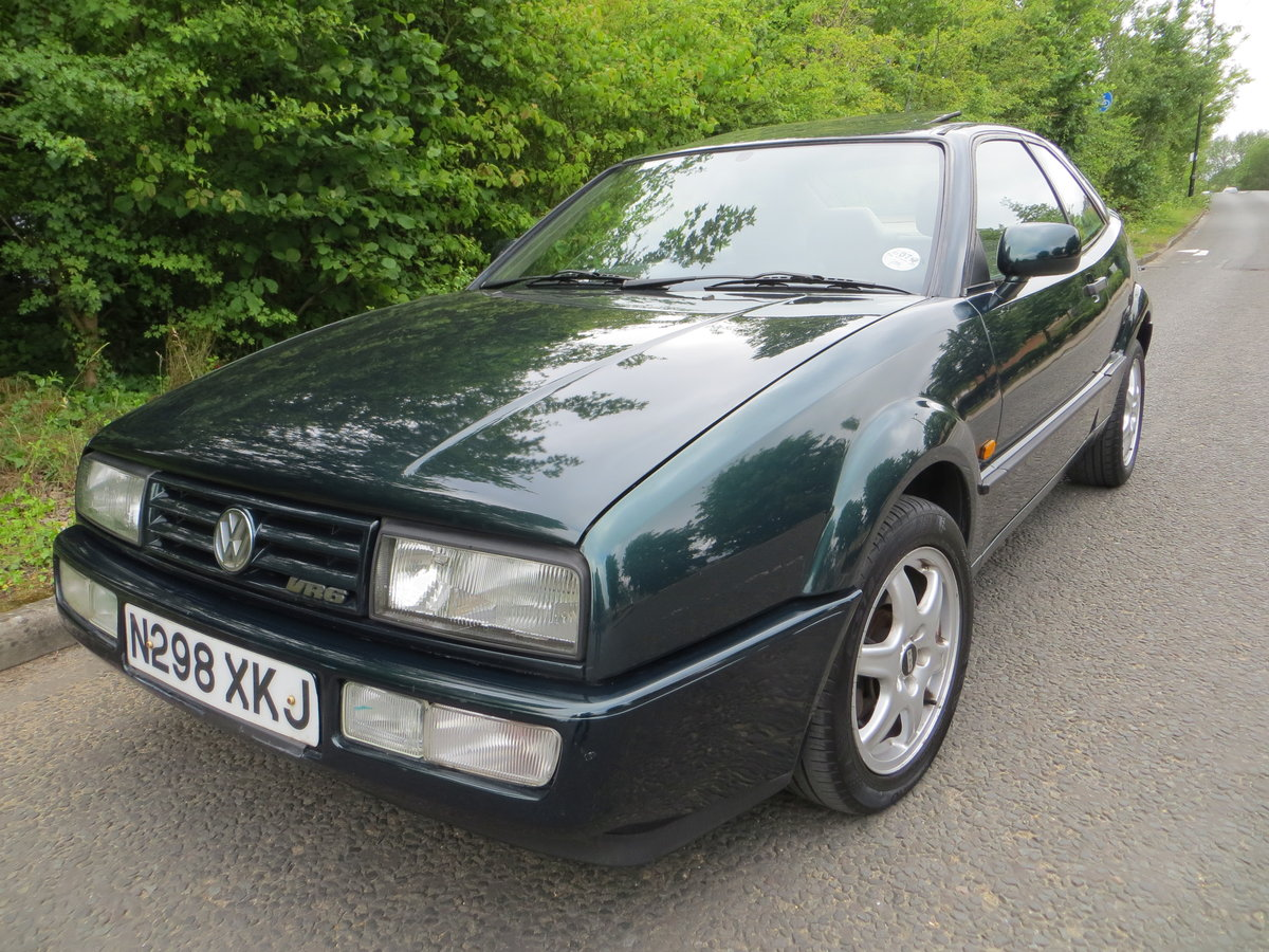1995 Volkswagen Corrado Vr6, 2 owners un modifed.... For Sale (picture 1 of 6)