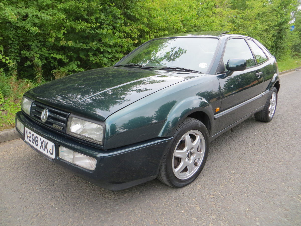 1995 Volkswagen Corrado Vr6, 2 owners un modifed.... For Sale (picture 2 of 6)
