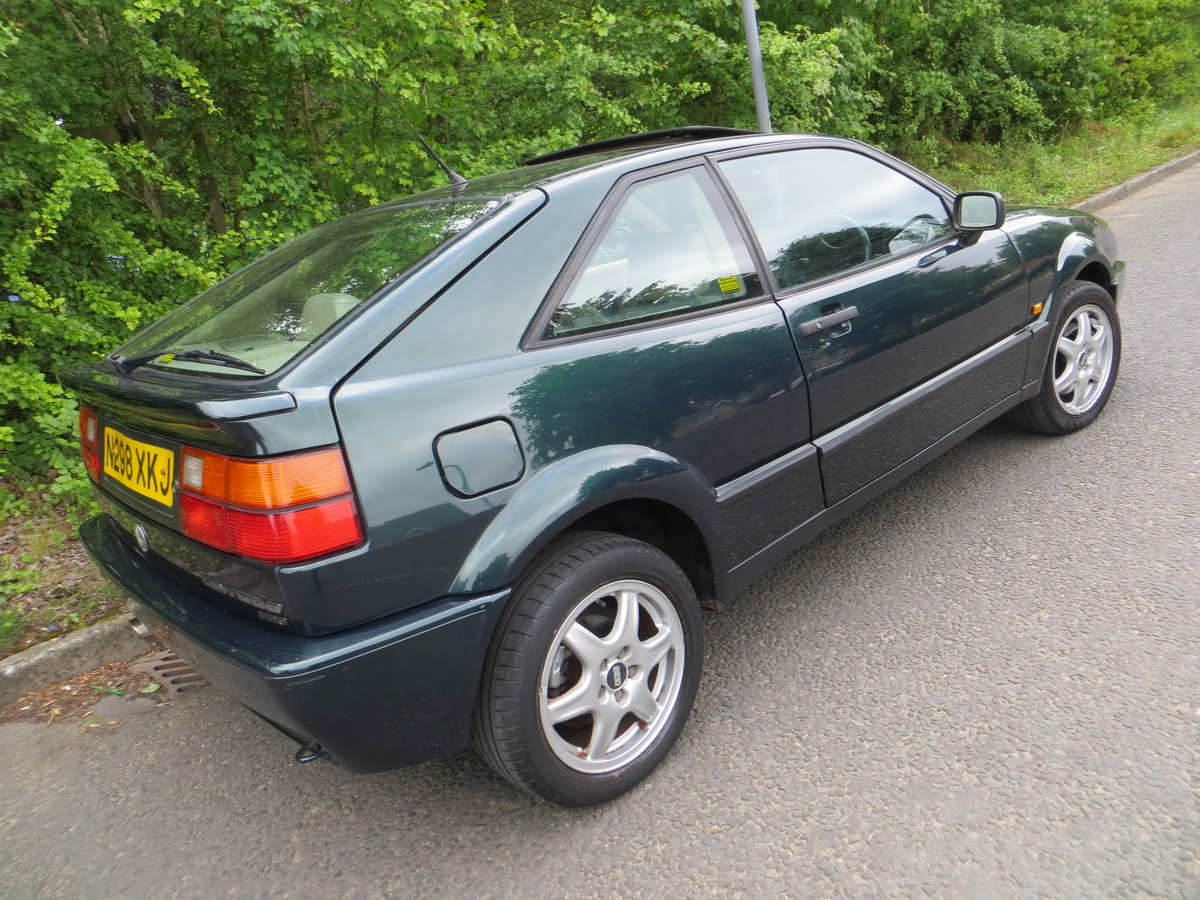 1995 Volkswagen Corrado Vr6, 2 owners un modifed.... For Sale (picture 6 of 6)