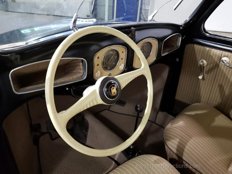 Volkswagen Kever brill 1952  For Sale by Auction (picture 5 of 6)