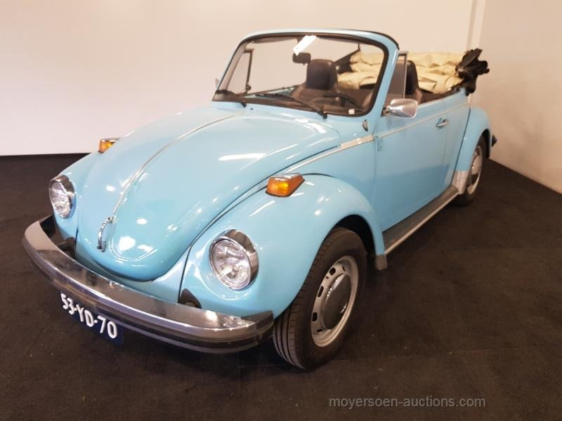 Volkswagen Kever Cabrio 1974  For Sale by Auction (picture 1 of 6)