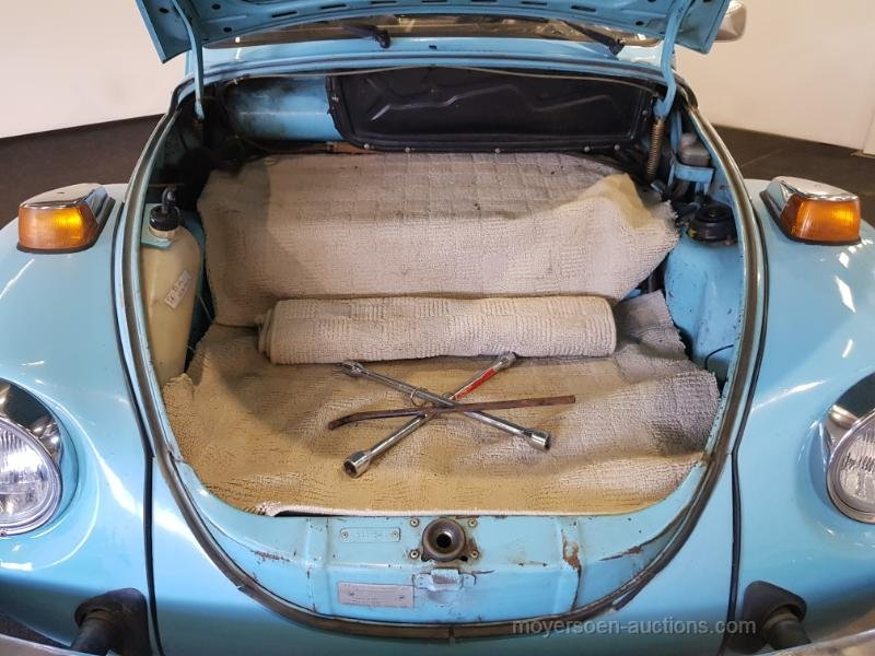 Volkswagen Kever Cabrio 1974  For Sale by Auction (picture 5 of 6)