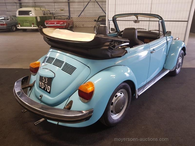 Volkswagen Kever Cabrio 1974  For Sale by Auction (picture 6 of 6)