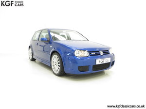 2003 The Ultimate Volkswagen Golf R32 with 6,337 Miles SOLD