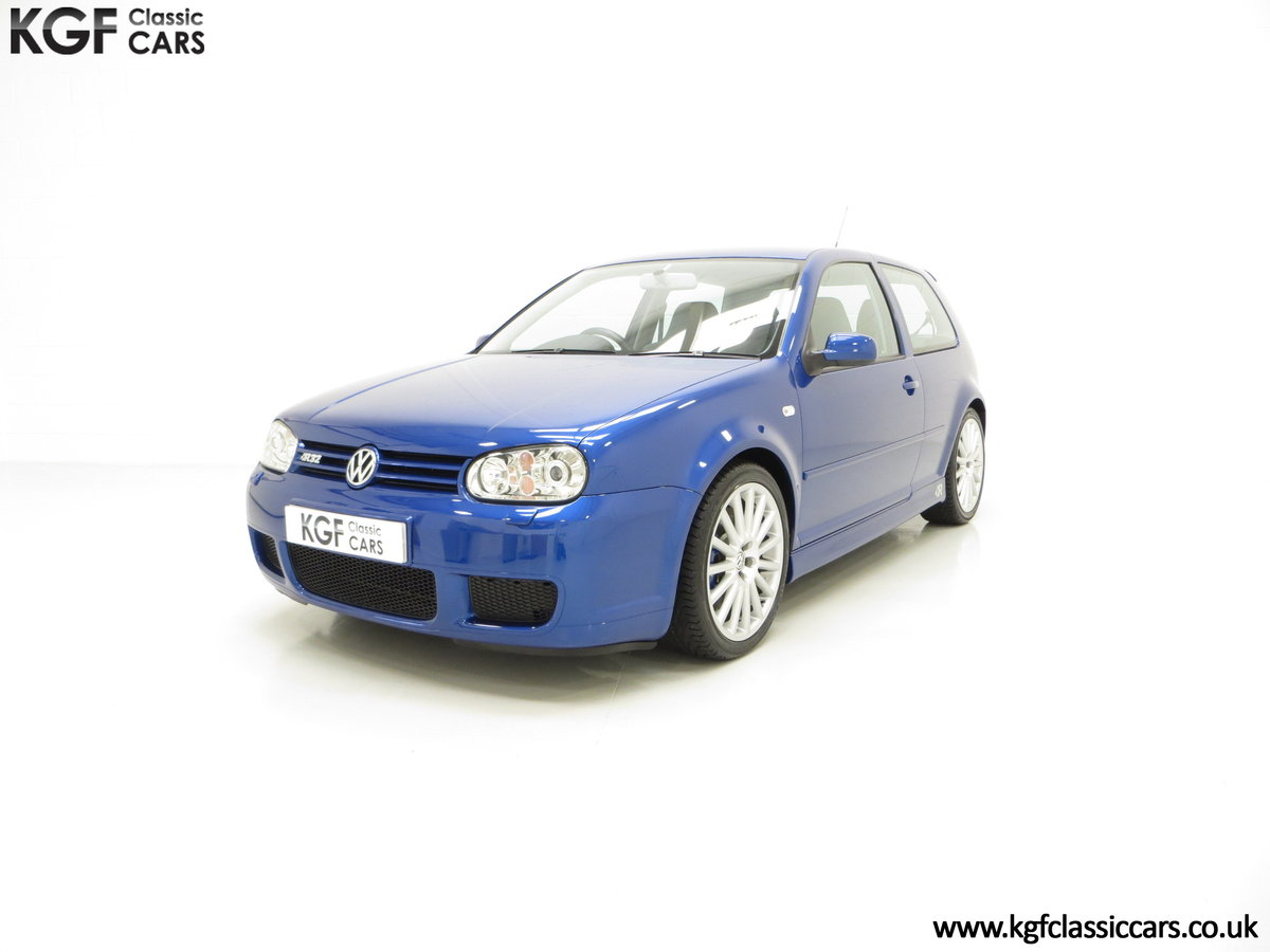 2003 The Ultimate Volkswagen Golf R32 with 6,337 Miles SOLD (picture 2 of 6)