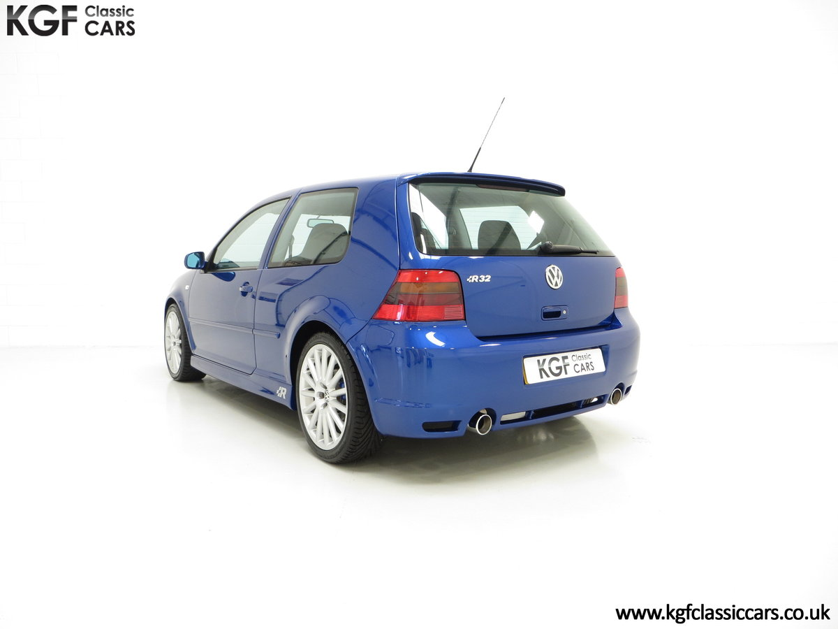 2003 The Ultimate Volkswagen Golf R32 with 6,337 Miles SOLD (picture 4 of 6)