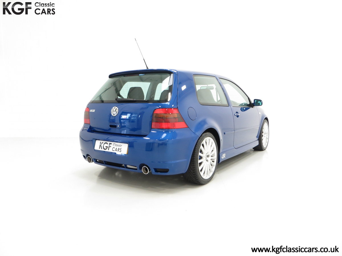 2003 The Ultimate Volkswagen Golf R32 with 6,337 Miles SOLD (picture 5 of 6)