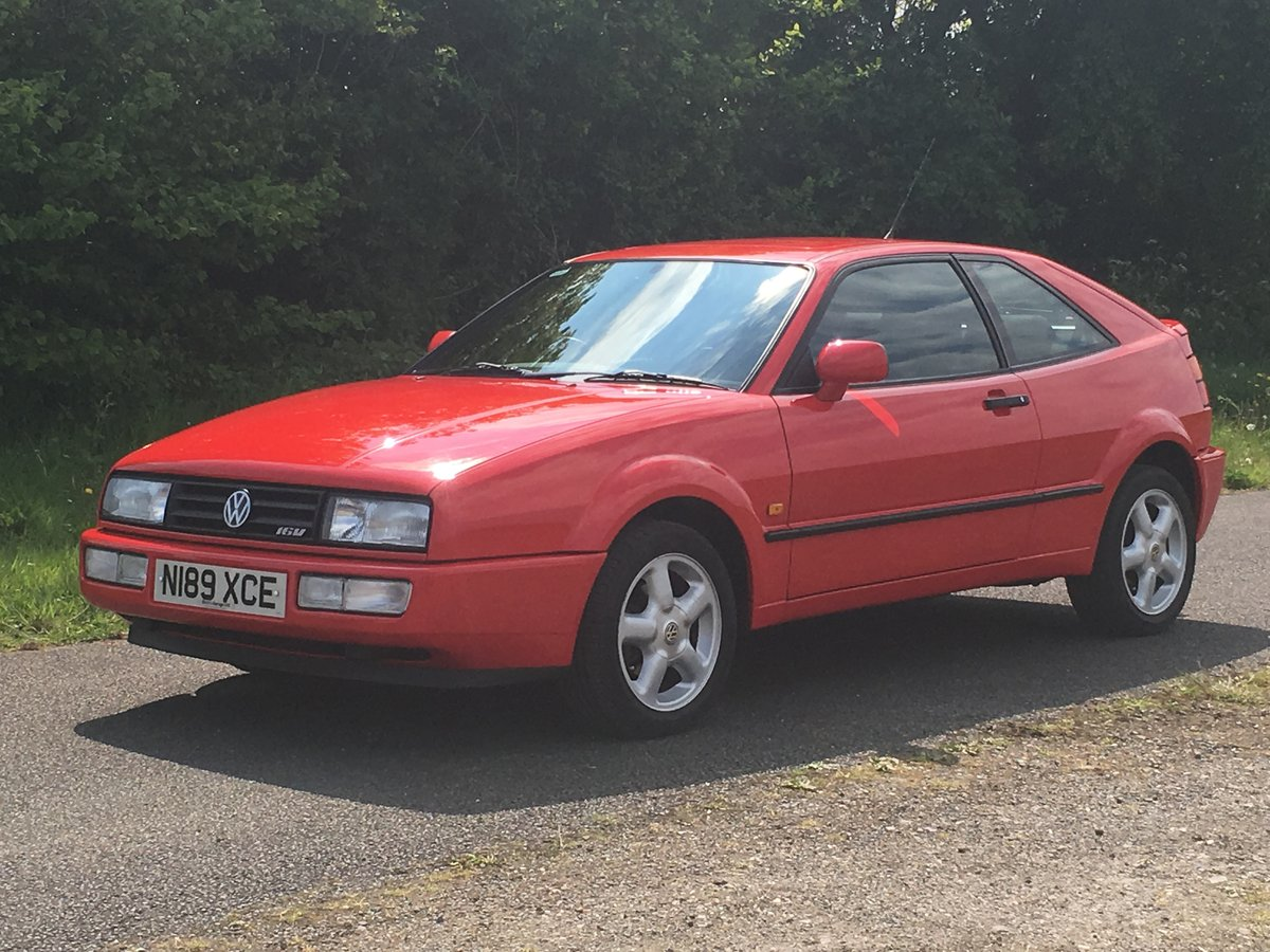 1995 VOLKSWAGEN CORRADO 16V For Sale (picture 2 of 6)