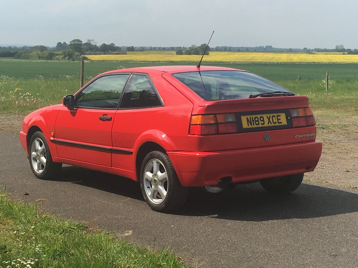 1995 VOLKSWAGEN CORRADO 16V For Sale (picture 3 of 6)