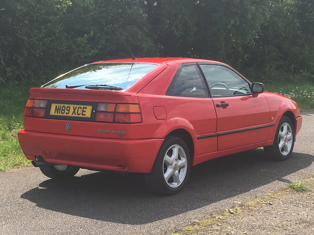 1995 VOLKSWAGEN CORRADO 16V For Sale (picture 4 of 6)