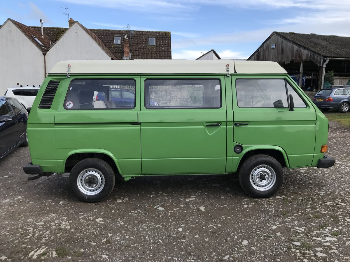 1983 VW Type 25 Campervan Westfalia For Sale (picture 1 of 6)