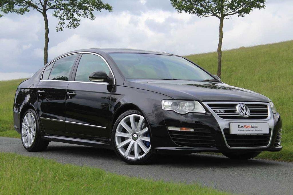 2008 Volkswagen Passat R36 V6 4motion black Incredible  For Sale (picture 1 of 6)
