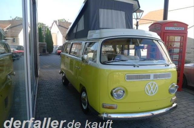 1968 Volkswagen T2 Westfalia Custom mit H-Zulassung For Sale (picture 1 of 6)