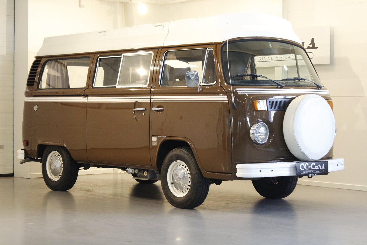 1979 Volkswagen T2 2,0 Camper van For Sale (picture 1 of 6)